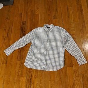 J.Crew Button Up Plaid Shirt size L